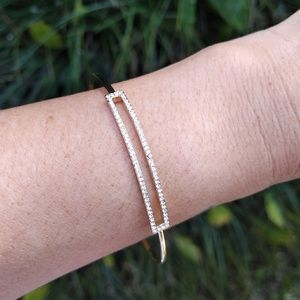 Stella & Dot Dainty Cuff w/ Rectangular Accent
